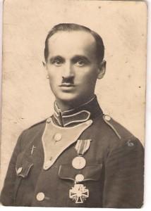 Ojciec Mieczysława Henryk Zajewski w Wilnie w roku 1928