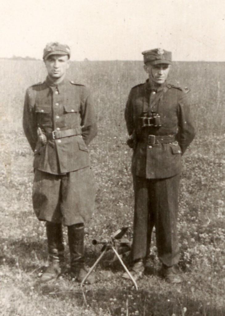 """Antoni Zamęcki """"Ryś"""" i Jan Turowski """"Orlicz"""""""