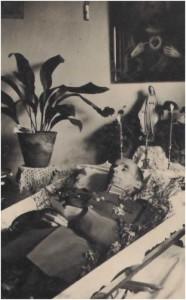 Ojciec Mieczysława, Henryk Zajewski pogrzeb, Wilno - 1934 r.