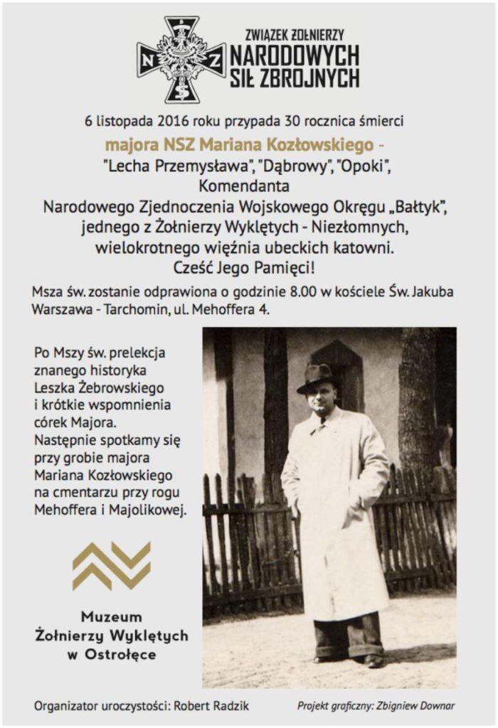 msza_za_majora_kozlowskiego_ulotka2