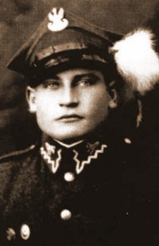 Józef Kuraś jeszcze przed wojną, w mundurze 1 Pułku Strzelców Podhalańskich. 1936 r.